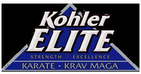 Kohler Elite Karate Logo