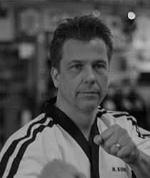 master instructor Kohler Elite Karate